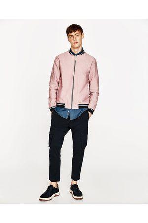 Heren Bomberjacks - Zara OXFORD BOMBERJACK - In meer kleuren beschikbaar