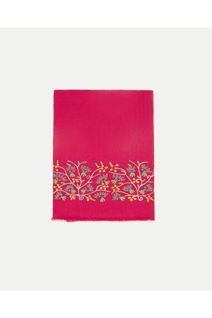 Dames Sjaals - Zara GEBORDUURDE SJAAL SPECIAL EDITION - In meer kleuren beschikbaar