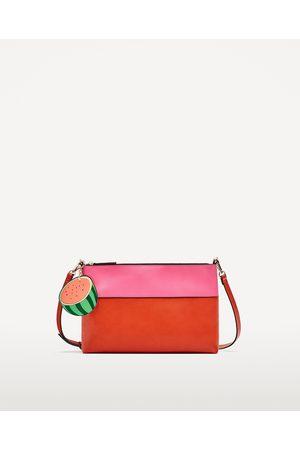 Dames Clutches - Zara TWEEKLEURIGE CLUTCH MET HANGER - In meer kleuren beschikbaar