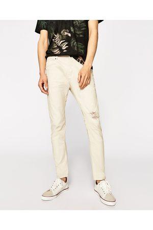 Heren Slim & Skinny broeken - Zara SKINNY FIT DENIM BROEK - In meer kleuren beschikbaar
