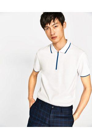 Heren Poloshirts - Zara POLO MET TECHNISCHE RITSSLUITING - In meer kleuren beschikbaar