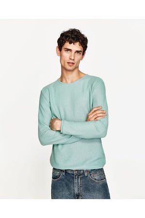 Heren Truien - Zara TRUI MET STRUCTUUR - In meer kleuren beschikbaar