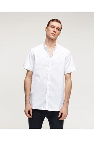 Heren Overhemden - Zara STRETCHOVERHEMD MET NETSTOF