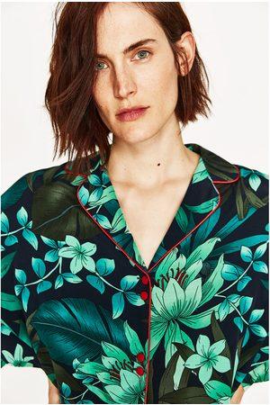 Dames Kimono's - Zara KIMONO MET PRINT