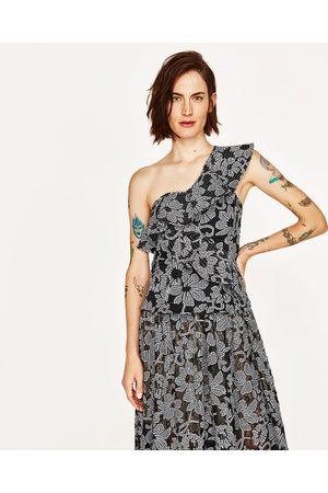Dames Geprinte rokken - Zara ROK MET BLOEMENPRINT