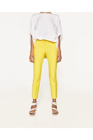 Dames Slim & Skinny broeken - Zara SKINNY BROEK MET ELASTISCHE TAILLEBAND - In meer kleuren beschikbaar