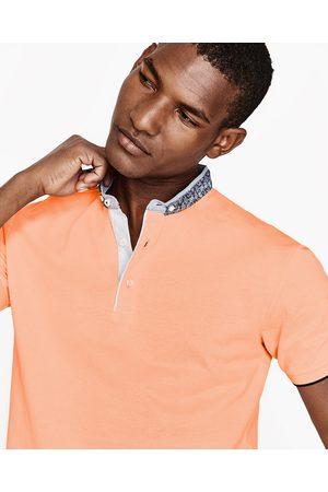 Heren Poloshirts - Zara PIQUÉ POLO MET MAOKRAAG - In meer kleuren beschikbaar