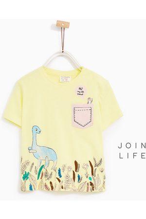 Shirts - Zara T-SHIRT MET DINO'S - In meer kleuren beschikbaar