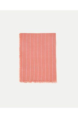Dames Sjaals - Zara GESTREEPT SJAALTJE MET GLANS - In meer kleuren beschikbaar