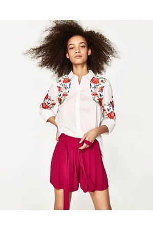 Dames Bermuda's - Zara BERMUDA MET PLOOIEN EN STRIK - In meer kleuren beschikbaar