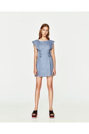 7699b65721e6c4 Zara nederland online dames Spijkerjurken