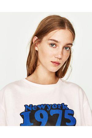 Dames Shirts - Zara T-SHIRT MET KORSET