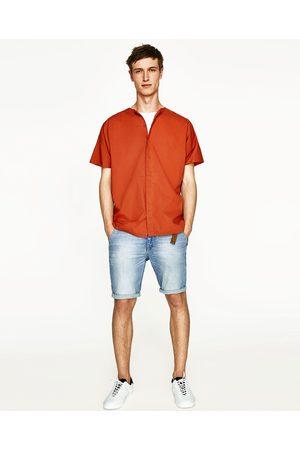 Heren Bermuda's - Zara DENIM CHINOBERMUDA - In meer kleuren beschikbaar