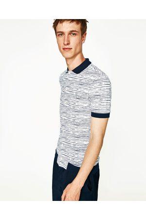 Heren Overhemden - Zara PIQUÉ OVERHEMD MET STREPEN - In meer kleuren beschikbaar