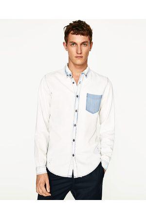 Heren Denim - Zara OVERHEMD RESERVED DENIM - In meer kleuren beschikbaar