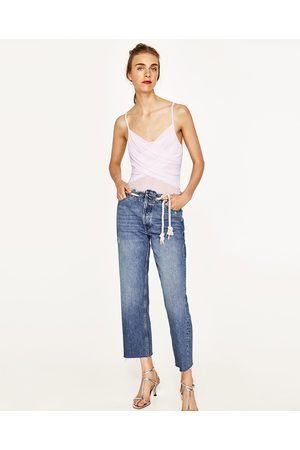 Dames Body's - Zara BODY IN BALLERINASTIJL MET TULE - In meer kleuren beschikbaar