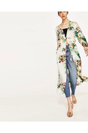 Dames Kimono's - Zara LANGE KIMONO