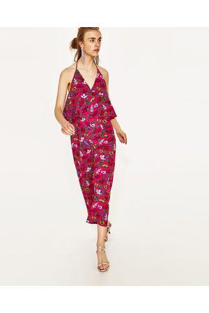 Dames Geprinte jurken - Zara JUMPSUIT MET BLOEMENPRINT