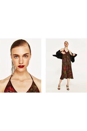 Dames Geprinte jurken - Zara JURK MET BATIKPRINT