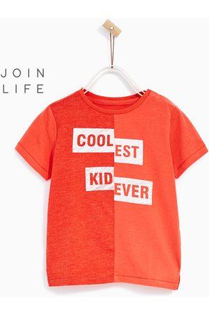 Shirts - Zara T-SHIRT MET ENGELSE TEKST - In meer kleuren beschikbaar