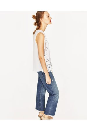 Dames Shirts - Zara T-SHIRT MET PRINT - In meer kleuren beschikbaar