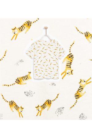Shirts - Zara T-SHIRT MET TIJGERPRINT