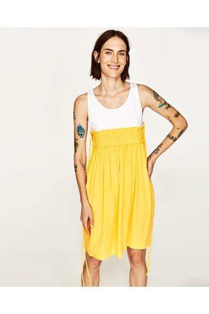 Dames Korte jurken - Zara KORTE COMBI-JURK - In meer kleuren beschikbaar
