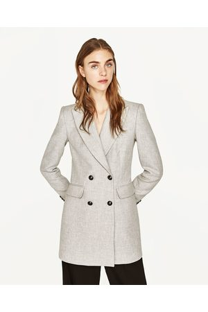 grijze mantel dames
