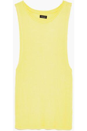 Heren Zara MOUWLOOS RIBSHIRT - In meer kleuren beschikbaar