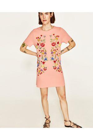 Dames Geprinte jurken - Zara JURK MET WAXED PRINT - In meer kleuren beschikbaar