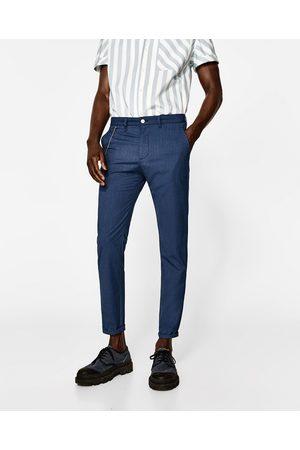 Heren Broeken - Zara CARROT FIT BROEK - In meer kleuren beschikbaar