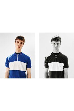 Heren Poloshirts - Zara GEBLOKTE POLO
