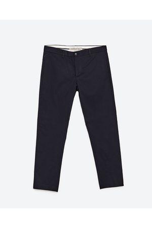 Heren Chino's - Zara CROPPED CHINOBROEK - In meer kleuren beschikbaar