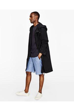 Heren Bermuda's - Zara CHAMBRAY BERMUDA - In meer kleuren beschikbaar