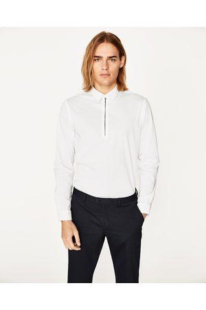 Heren Overhemden - Zara OVERHEMD MET RITS