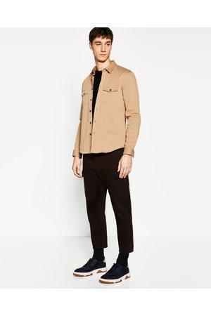 Heren Overhemden - Zara OVERHEMD IN LEGERSTIJL - In meer kleuren beschikbaar