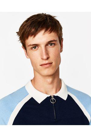 Heren Poloshirts - Zara POLO MET RITS - In meer kleuren beschikbaar
