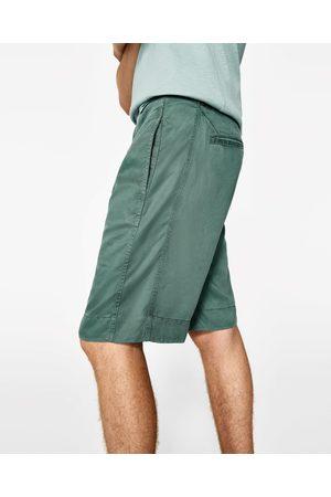 Heren Bermuda's - Zara BERMUDA GREEN JOIN LIFE - In meer kleuren beschikbaar