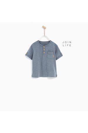 Shirts - Zara BASIC CORDUROY T-SHIRT - In meer kleuren beschikbaar
