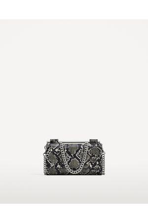 Dames Portemonnees - Zara SCHOUDERTAS MET PORTEFEUILLE EN PRINT - In meer kleuren beschikbaar