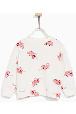 Meisjes Sweaters - Zara SWEATSHIRT 'PINK PANTER
