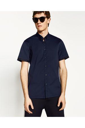 Heren Overhemden - Zara STRETCHOVERHEMD MET NETSTOF - In meer kleuren beschikbaar