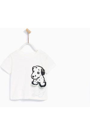 Shirts - Zara T-SHIRT MET DALMATIËR OP HET BORSTZAKJE