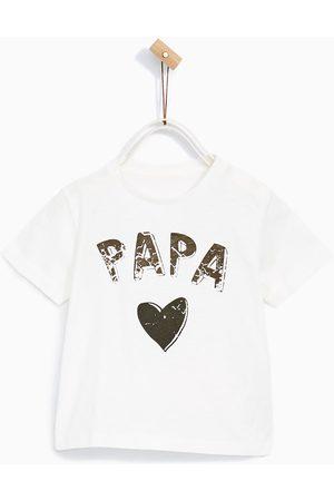 Shirts - Zara T-SHIRT MET PAPA-PRINT
