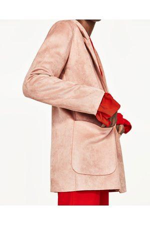 Dames Blazers & Colberts - Zara KUNSTSUÈDE BLAZER - In meer kleuren beschikbaar