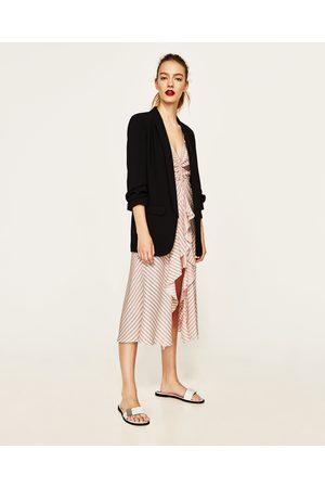 Dames Blazers & Colberts - Zara CRÊPE BLAZER - In meer kleuren beschikbaar