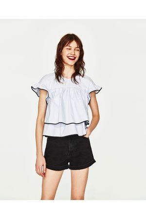 Dames Tops & Shirts - Zara TOP IN BABYDOLL-STIJL