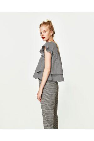 Dames Tops & Shirts - Zara GERUITE TOP IN BABYDOLL-STIJL