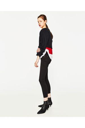 Dames Slim - Zara PUSH-UP JEANS EMBRACE MET LAGE TAILLE IN SLIM FIT