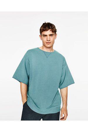 Heren Sweaters - Zara VELOURS SWEATSHIRT - In meer kleuren beschikbaar